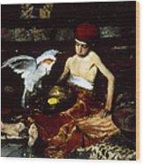 Duveneck: Turkish, 1876 Wood Print