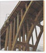 Dvp Bridge Wood Print