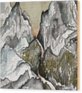 Dwimorberg     The Haunted Mountain  Wood Print