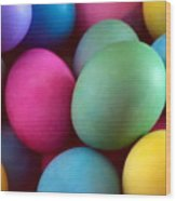 Dyed Easter Egg Abstract Wood Print
