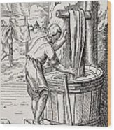 Dyer. 19th Century Reproduction Of 16th Wood Print