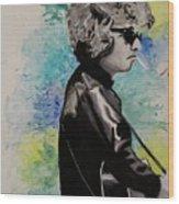 Dylan 1 Wood Print