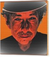 Dylan Sixty Eight Wood Print