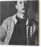 Dylan Thomas (1914-1953) Wood Print