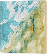 Dynamics Of Water Wood Print