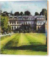 Dyrham Park Wood Print