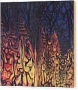 Dystopian Fiction Wood Print