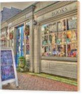 E. Shaver Bookseller Wood Print