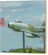 Eaa F-86 Sabre Wood Print