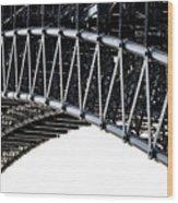 Eads Bridge Wood Print