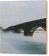 Eads Bridge St. Louis Missouri Wood Print