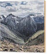 Oregon's Eagle Cap Wilderness  Wood Print