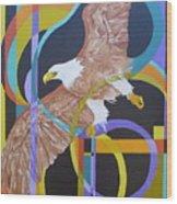 Eagle Dance Wood Print