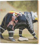 Eagle Dancer Bear Wood Print