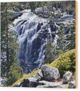 Eagle Falls Wood Print