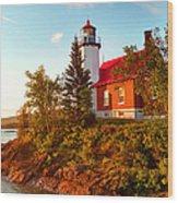 Eagle Harbor Lighthouse, Michigan Wood Print