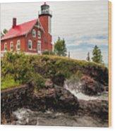 Eagle Harbor Lighthouse Wood Print
