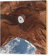 Eagle Head,  Monument Valley Wood Print
