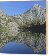Eagle Lake Wilderness Wood Print