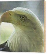 Eagle Majesty Wood Print