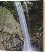 Eagle Mill Falls Wood Print