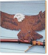 Eagle Sold   Wood Print