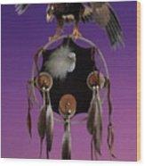 Eagle Spirit Wood Print