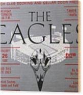 Eagles Concert Ticket 1980 Wood Print