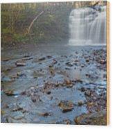 Early Autumn At Pixley Falls Wood Print