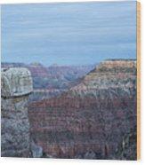 Early Evening At Grand Canyon No. 2 Wood Print