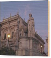 Early Evening Rome Number Two Wood Print