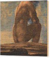Early Human Wood Print