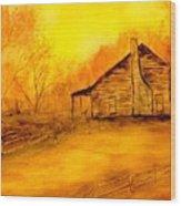 Early Kentucky Times Wood Print