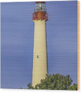 Early Light At Cape May Lighthouse Wood Print