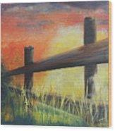 Early Morn Wood Print