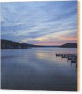 Early Morning At Lake Of The Ozarks Wood Print