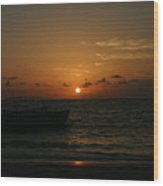 Early Morning Dominican Republic Wood Print