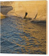 Early Morning Gold At Valletta Fortifications Wood Print