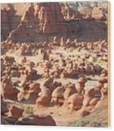 Early Morning Hoodoos Wood Print