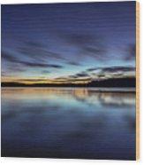 Early Morning On Lake Lanier Wood Print