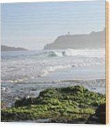 Early Morning On Secret Beach Wood Print