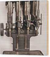 Early Press From Car Manufacturing 2 Wood Print