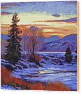 Early Spring Daybreak Wood Print