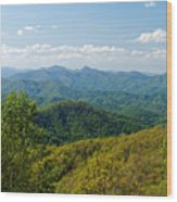 Early Spring On The Blue Ridge Parkway Wood Print