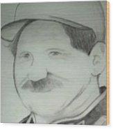 Earnhardt Sr Wood Print