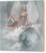 Earth Angel 2 Wood Print