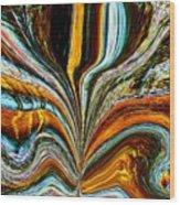 Earth Bloom Wood Print