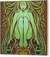 Earth Spirit Wood Print