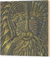 Earth Warrior Wood Print