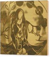 Earth Woman Wood Print by Austen Brauker
